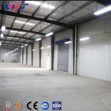 Costruzione poco costosa del magazzino di Premade di memoria strutturale d'acciaio della Lungo-Portata da vendere
