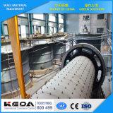 軽量の煉瓦機械、通気された具体的な煉瓦機械