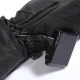leer verwarmde handschoenen/waterdichte handschoenen/windhandschoenen