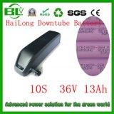 Gran batería de litio de la batería 36V 13ah de Akku Hailong de la E-Bici para el nuevo paquete de la batería de Downtube de las bicis eléctricas para Sam---Las células cantadas envían el cargador 2A en China con las existencias