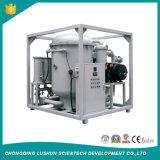 Zjaの電力産業の炭素鋼の物質的な二重段階の高真空システム変圧器オイルの処置機械