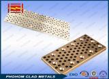 Plaat van het Aluminium van het koper de Beklede voor Geleidend Busbar of van het Koper Bekleed Staal