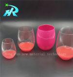 прозрачная пластичная чашка вина 10oz