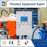 Máquina da imprensa de filtro da câmara da membrana do equipamento do filtro de água da DZ