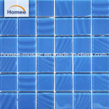 48mm*48mm de grosor 4mm cuadrados mosaico de piscina mosaico de vidrio 298X298