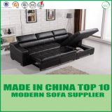 Base di sofà di cuoio piegante di vendita calda di economia di spazio