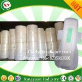 生理用ナプキンのPantyのはさみ金によって扱われる木製の綿毛のパルプの原料