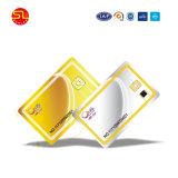 O PVC Smart Card com espessura de RFID para a adesão