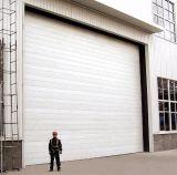 Portello di sollevamento verticale sezionale industriale commerciale dell'acciaio inossidabile