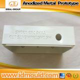 Il CNC professionale parte le parti di alluminio che lavorano i pezzi meccanici alla macchina di CNC