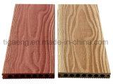 Incêndio amigável descalço da superfície gama alta da natureza - Decking resistente de WPC