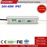 LEIDENE Voltage van het HOOFD van de Bestuurder Levering van de Constante 24V 45W de Waterdichte Macht van de Omschakeling IP67