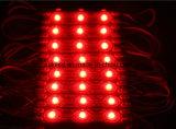 高明るさ0.72W 3LEDsは屋外広告の表記の照明のためのSMD5050 LEDのモジュールを防水する