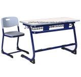 Precios dobles ajustables del vector de lectura y del escritorio y de la silla de la escuela de las sillas para los muebles de escuela