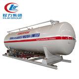 10000L 판매를 위한 10m3에 의하여 거치되는 LPG 미끄럼 탱크