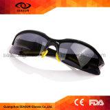 Оптовые черные поляризовыванные защитные солнечные очки напольного спорта UV400 задействуя идущие стекла Sun рыболовства Riding