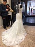 As rendas de marfim noite vestido de noiva Suite Bata