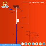 luz de rua da potência solar do diodo emissor de luz 40W para 8m Pólo