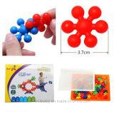 Kleinkind-Berufspädagogisches Aufbau-Schneeball-Ziegelstein-Plastikspielzeug
