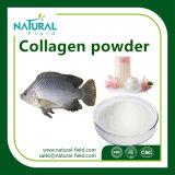 Pó natural do colagénio dos peixes do produto de cuidado de pele