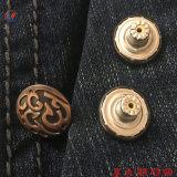 Diseño personalizado Jeans Botones y remaches