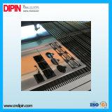 Вырезывание CNC листа цвета двойника ABS гравировки лазера пластичное