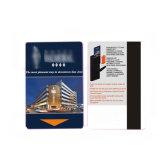 Hotel de RFID de PVC de tamanho personalizado cartão magnético