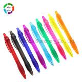 Chaud-Vente de la papeterie en plastique bon marché de bureau de stylo à bille pour le cadeau promotionnel