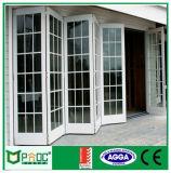 Pnoc080334ls puerta plegable de aluminio con tamaño personalizado