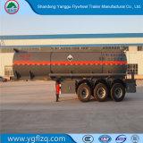 El mejor venta 3 ejes de hidróxido de sodio Naoh/semi remolque cisterna de transporte