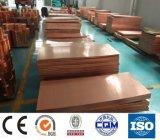 Placa de cobre para el uso eléctrico de la industria