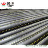 Formato di plastica 110mm del tubo di gas dell'HDPE del tubo dell'HDPE PE100