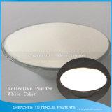 Blanco y Siver reflectante de color gris de polvo para serigrafía