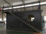 Het gemakkelijke Huis van de Container van de Decoratie van de Verpakking van de Installatie Vlakke Huis Geprefabriceerde voor Villa