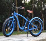 '' fetter Strand-Kreuzer-elektrisches Fahrrad des Gummireifen-26 für Mann