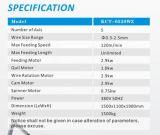 Kcmco-Kct-20b 0,2-2.5mm machine de formage CNC ressort polyvalent&/ extension/ compression de ressort de torsion Making Machine& Printemps coiler
