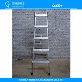 Vijf-stappen de Opvouwbare Ladder van het Aluminium voor het Landbouw of Gebruik van het Huis