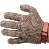 Maillon de chaîne en acier inoxydable gant de travail de la sécurité de la sécurité