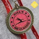 卸し売り昇進の高品質のリボンのカスタム金属の軍隊メダル