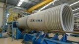 Cadena de producción hueco del tubo del enrollamiento de la pared del PE