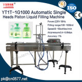 Machine de remplissage liquide de piston principal simple automatique pour le désinfectant (YT1T-1G1000)