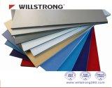 PVDF Beschichtung-zusammengesetztes Aluminiumpanel für Innen-/Außendekoration