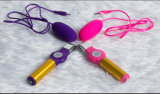 2018 Vibrador USB de carga solo huevos Masturbation Sex Toys para mujer