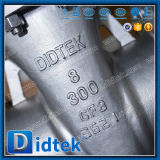 Soupape à vanne de la bride CF8m de volant de commande de Didtek pour la raffinerie