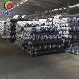 Tela feita malha fibra de Peached do leite do poliéster do Spandex do algodão para a matéria têxtil (GLLML361)