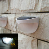 LED de luz solar Garden Light com formato Semi-Circle