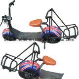 ドアのないスマートな2つの車輪の二重シートの小型電気ゴルフカート