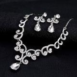 2018 новых прибытия устраивающих ожерелья серьги украшения для свадебных устраивающих Ювелирные изделия