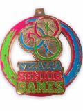 Medaglia di oro molle del metallo dello smalto di grande di Dublino giro della bici