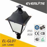 에너지 절약 옥외 60W LED 가로등 LED 정원 빛
